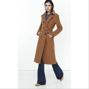 Gorgeous Tan wool blend trench